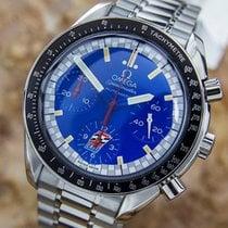 Omega Ltd Edition Schumacher Speedmaster Stainless Steel Watch...