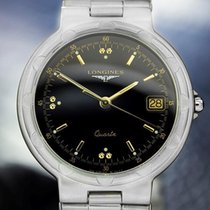 Longines Conquest Mens Swiss Made Stainless Steel C1990 Luxury...