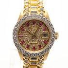 Rolex Datejust Afterset Diamonds & Rubys Ladies Watch