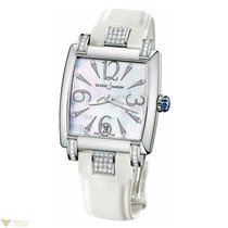Ulysse Nardin Caprice Stainless Steel Pearl Dial White Strap...