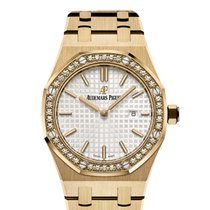 Audemars Piguet Royal Oak Lady - yellow gold on bracelet