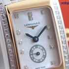 浪琴 (Longines) Ladies DolceVita Quartz Steel and Pink Gold...
