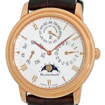 "Blancpain ""Villeret"" Perpetual Calendar Strapwatch."