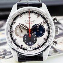 Zenith El Primero Chronograph Tri Color SS 36,000VpH