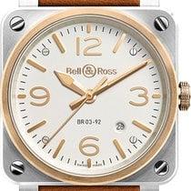 Bell & Ross BR0392-ST-PG/SCA