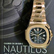 Patek Philippe Nautilus Chronograph 5980/1R 18k Rose Gold NEW...