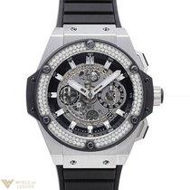 Hublot Big Bang King Unico with Diamond Bezel - Titanium on...