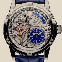 Louis Moinet Mecanograph 20 Second Tempograph Deep Blue