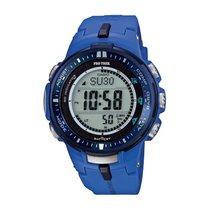 Casio Uhren Herrenuhr Chronograph Sport Pro Trek PRW-3000-2BER