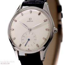 Omega Vintage Jumbo Gentleman Watch Ref-2505-12 Stainless...