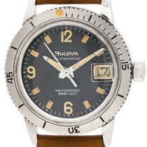 Bulova Stainless Snorkel 660 Diver's 1950's