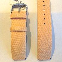 Philip Stein Watch Band Peach Lizard 18mm