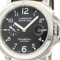 パネライ (Panerai) Polished  Luminor Marina Steel Automaic Watch...