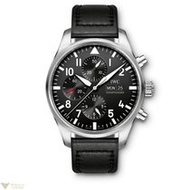 IWC Pilot's Chronograph Stainless Steel Men's Watch