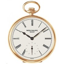 Patek Philippe 973J-010 Lepine Pocket Watch 44mm Ivory Roman...