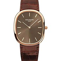Patek Philippe Golden Elipse Mens 3738-100R Wristwatch B&P...