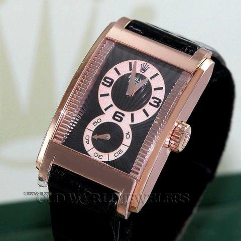 Rolex 18K ROSE GOLD CELLINI PRINCE