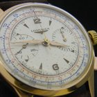 Longines chrongraph 30/gold 18 kt