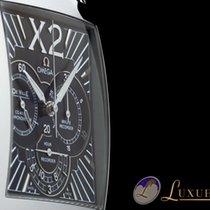 Omega De Ville X2 Co-Axial Chronograph Edelstahl 37mm