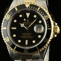 Rolex Submariner 16613 40mm 2006 Black Steel Gold Box/papers 2...