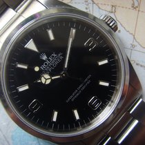 """Rolex 1991 rare """"BLACK OUT"""" Rolex EXPLORER I Ref 14270"""