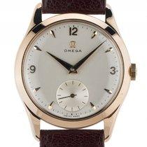 Omega Vintage kleine Sekunde 14kt Gelbgold Handaufzug Armband...