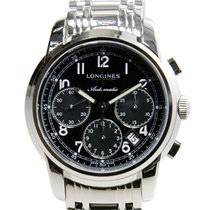 Longines Saint Imier Stainless Steel Black Automatic L2.752.4....