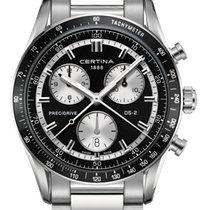 Certina DS2 Precidrive Chronograph Farbe Schwarz Silber