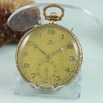 Omega Vergoldet Taschenuhr Cal.: 35,5 L - T1