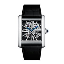 Cartier Tank Louis Manual Mens Watch Ref W5310026