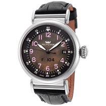 Glycine F 104 Dark Mother of Pearl Dial Automatic Men's Watch