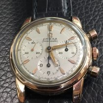 Omega Seamaster chronograph vintage case in gold plated cal.321