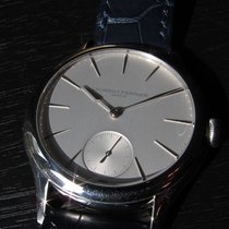 Laurent Ferrier Galet Micro Rotor white gold silver dial
