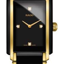 雷达 (Rado) Integral Diamonds schwarz Keramik Edelstahl/PVD -NEU-