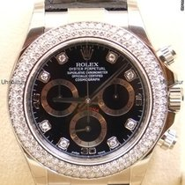 Rolex Daytona, Ref. 116589RBR - schwarz Diamant Zifferblatt
