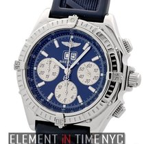 Breitling Windrider Crosswind Special Blue 44mm Stainless...