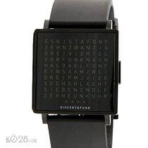 """Qlocktwo """" W """" W001 - Biegert und Funk - Armbanduhr..."""