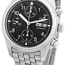 """IWC """"Pilot Der Flieger"""" Automatic Chronograph."""