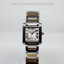 Cartier Tank Francaise Ladies Steel and Gold