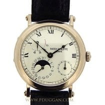 Patek Philippe 18k white gold Power Reserve Moonphase