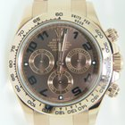 Rolex Daytona Cosmograph Rose Gold,Chocolate  Dial, Full Set