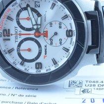Tissot Herren Uhr Chrono 39mm Quartz Stahl Mit Orig. Kautschuk...