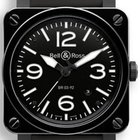 Bell & Ross Aviation  BR03-92-BL-CE BLACK CERAMIC  Automatic