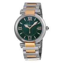 Chopard Imperiale Green Dial Stainless Steel and 18kt Rose...
