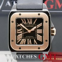 Cartier Santos 100 Medium 2878 PVD/Rose Gold