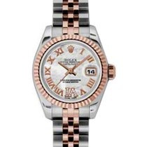 Rolex Lady-Datejust 26 179171-MOPDRJ White Mother of Pearl...