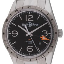 Bell & Ross - BR 123 GMT 24H : BRV123-BL-GMT