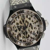 Hublot Big Bang Snow Leopard Keramik Limited 500 Pieces...