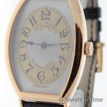 Patek Philippe 5098 Gondolo 18K Rose Gold Mens Wrist Watch...
