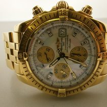 Breitling Chronomat Evolution K13356 18k 44mm Chrono W/mop...
